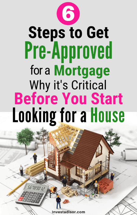 mortgage preapproval steps