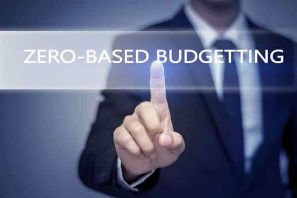 what is a zero based budget